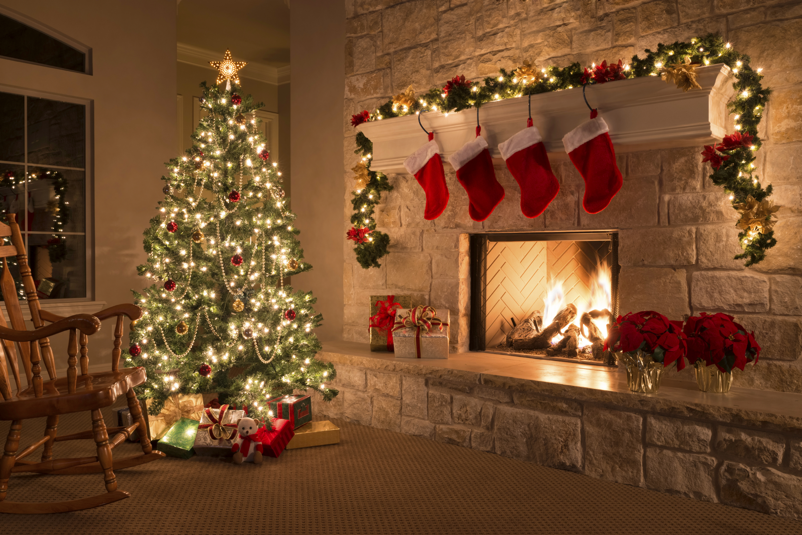 month of christmas - Christmas Fireplace