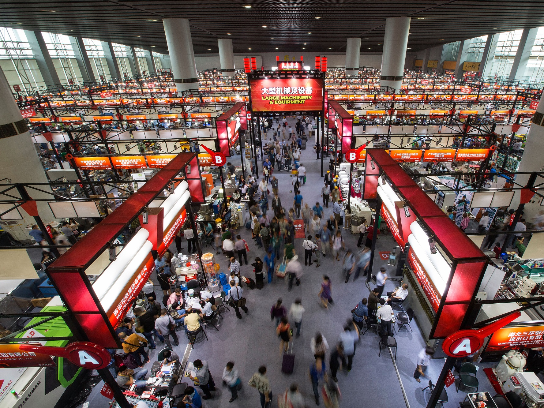 this years canton fair will feature 60475 booths and take up a total of 1185 million square meters thats the size of 71 walmart supercenters - this-years-canton-fair-will-feature-60475-booths-and-take-up-a-total-of-1185-million-square-meters--thats-the-size-of-71-walmart-supercenters